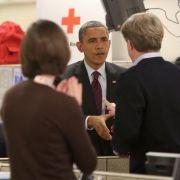 Obama wird zum Krisenmanager nach «Sandy»