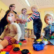 Nur für 18 Prozent der Kinder bis zwei Jahre gibt es in Deutschland einen Betreuungsplatz.