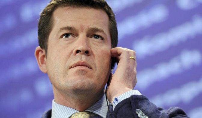 Nach seinem Rücktritt wegen der Plagiatsaffäre startet Ex-Verteidigungsminister Karl-Theodor zu Guttenberg in Amerika durch. (Foto)