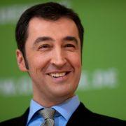 Grünen-Politiker Cem Özdemir hatte nicht immer so viel zu lachen.