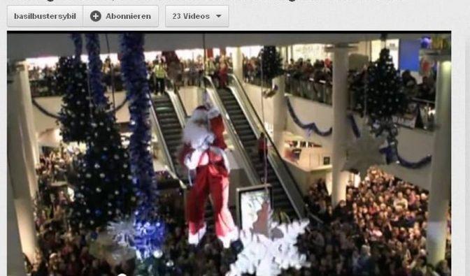 Santa Claus allerdings hat seinen ersten großen Auftritt 2012 vergeigt. (Foto)