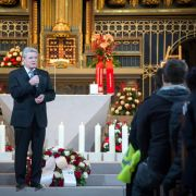 Nahm an der Trauerandacht ebenfalls teil: Bundespräsident Joachim Gauck.