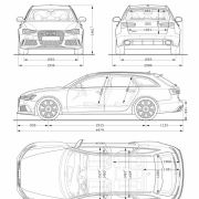 Die besten Bilder zu Audi RS 6 Avant 4.0 TFSI: Nase vorn