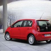 Die besten Bilder zu VW Eco Up: Erdgas-Mobil für Pizza-Dienste