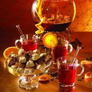 Feuerzangenbowle mit Orangennote