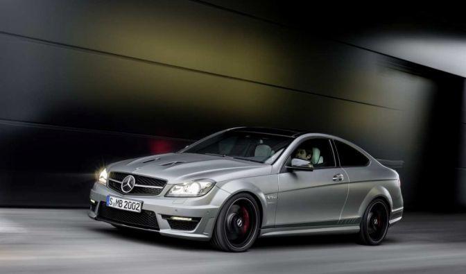 Die besten Bilder zu Mercedes-Benz C 63 AMG Edition 507: Der Name ist Programm