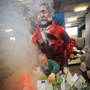 Der ehemalige rheinland-pfälzische Ministerpräsident Kurt Beck wird im Mainzer Karneval zum «Verpulver-Kurt».