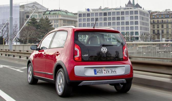 Die besten Bilder zu VW Cross Up: Mogelpackung