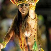 Ob es die Sambaschule Imperatriz Leopoldinense ins Finale schafft? Viel nackte Haut soll sie ans Ziel bringen.