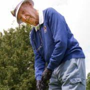 Deutschlands ältester Golfer