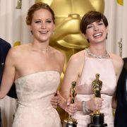 Daniel Day-Lewis, Jennifer Lawrence, Anne Hathaway, Christopher Waltz