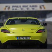 Die besten Bilder zu Mercedes SLS electric drive: Teilchenbeschleuniger
