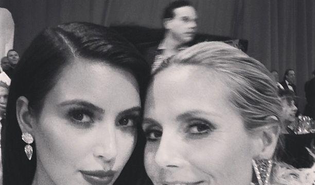 Kim Kardashian und Heidi Klum