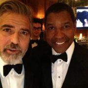 Denzel Washington und George Cloone