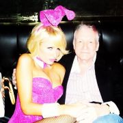 Paris Hilton  Hugh Hefner