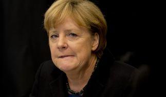 Nackt im Internet: Angela Merkel. (Foto)