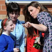 Duchess of Cambridge Visits Willows Primary School