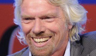 Will seine Mitarbeiter mit mehr Urlaub motivieren: Richard Branson. (Foto)