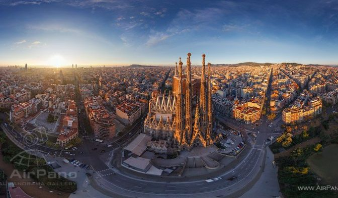 Barcelona, die ewig Unvollendete. (Foto)