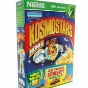 Hersteller Nestle meint, mit Kosmostars einen vollwertigen Start in den Tag zu garantieren - dank Vollkorn. In Wahrheit sind die Cerealien eine Zuckerbombe.