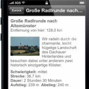 2000 Fahrradtouren für ganz Deutschland: Die ADAC Radapp bietet Beschreibungen und Karten auch offline.