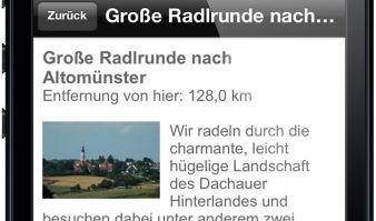 2000 Fahrradtouren für ganz Deutschland: Die ADAC Radapp bietet Beschreibungen und Karten auch offline. (Foto)