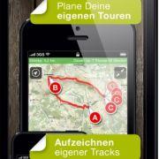 Der Tourenplaner Outdooractive leitet Radfahrer sicher zum Ziel. Tausende Routen können abgerufen oder importiert werden. Eine Offline-Nutzung ist möglich.