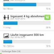 Die kostenlose App RunKeeper ist einHosentaschen-Trainer. Auf iOS und Android-Smartphones werden Strecken aufgezeichnet und die verbrauchten Kalorien errechnet. Von der Anwendung vorgegebene Trainingspläne werden über Monate verfolgt und ausgewertet.