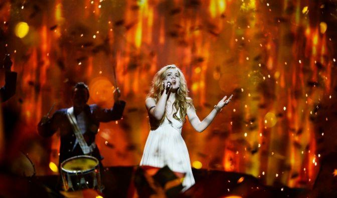 Die Favoritin hat sich durchgesetzt: Emmelie de Forest aus Dänemark gewann mit Only Teardrops. (Foto)