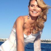 Das Topmodel beim Filmfestival in Cannes.