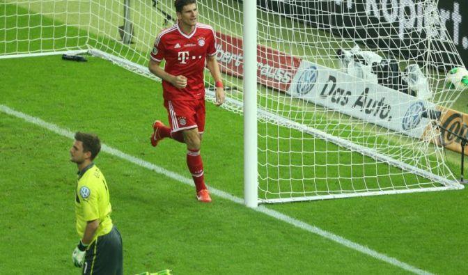 Matchwinner auf Bayern-Seite war Mario Gomez, der zwei der drei Tore für die Münchner erzielte.