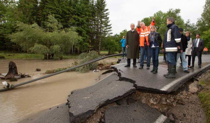 Flutkatastrophe 2013: Die Flut verursacht an Deutschlands Straßen Millionenschäden. (Foto)