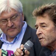 2009 unterstützte Sänger Peter Maffay die SPD im Wahlkampf.