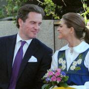 Vertraut und verliebt: Prinzessin Madeleine und Chris O'Neill.