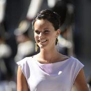 Sofia Hellqvist, Freundin von Prinz Carl Philipp, ist ebenfalls Hochzeitsgast. Steht da schon die nächste Trauung ins Haus?
