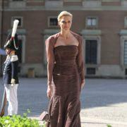 Fürstin Charlène von Monaco präsentiert sich ohne ihren Gatten Albert.