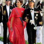 ... Kronprinz Frederik von Dänemark und seine Frau Mary sowie ...