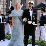Auch mit dabei: Kronprinz Haakon von Norwegen und seine Frau Mette-Marit.