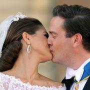 Ein hübsches Paar: Prinzessin Madeleine von Schweden und Chris O'Neill sind Mann und Frau.