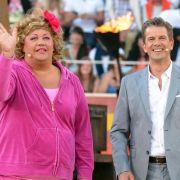 Auch mit Co-Moderatorin Cindy aus Marzahn legte sich Markus Lanz an. Weil er Michelle Hunziker, die diesmal als Gast geladen war, bat, bald mal wieder als Assistentin einzuspringen.