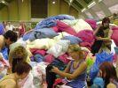 Für die Flutopfer werden fleißig Spenden gesammelt. (Foto)