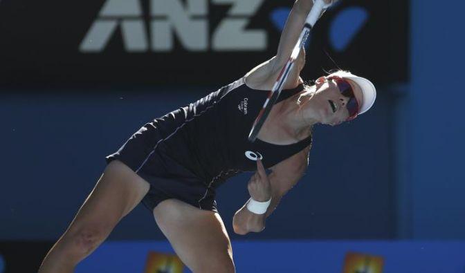 Samantha Stosur zählt zu den muskulösesten Spielerinnen der Tour.