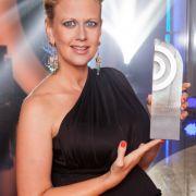 Moderierte hochschwanger sogar den Deutschen Radiopreis: Barbara Schöneberger.