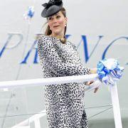 Kate Middleton beweist trotz Schwangerschaft Mut zur Mode.