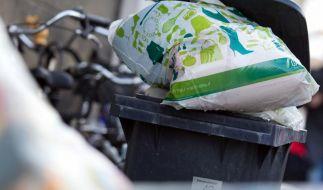 Umweltschutz oder Geldmacherei: Mit dem Grünen Punkt wird vor allem Kohle gescheffelt. (Foto)
