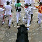 Stiertreiben in Spanien - Termin, Ursprung, Todesfälle im Überblick (Foto)