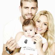 Milan, Shakira und Gerard