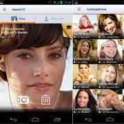 friendscout24-App: 200.000 Singles sollen bei dem Portal bereits mobil erreichbar sein. Sie ist einfach und übersichtlich aufgebaut. Leider ist die Schrift der App über den Bildern sehr schlecht lesbar. Viele User klagen zudem über häufige Abstürze.