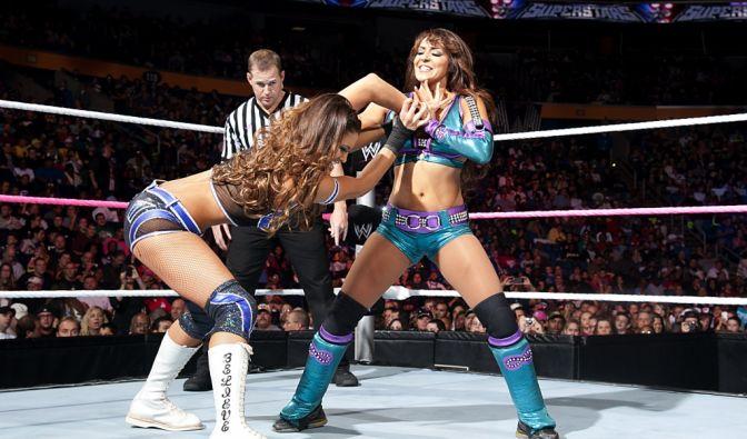 Eve Torres (links) und Layla (bürgerlich: Layla El) (Foto)