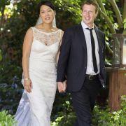 Mark Zuckerberg und Priscilla Chan.